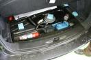 Vialle LPi Autogasanlage - Radmuldentank mit Membranpumpe