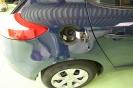 Vialle LPi Autogasanlage - Minibetankung hinter der Tankklappe